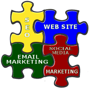 Web Site Design, SEO, Social Media Marketing, Email Marketing